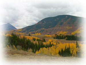 crested butte-beautiful fall valley in crested butte