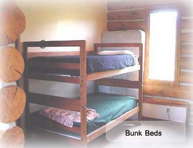Bunk Beds at the cabin