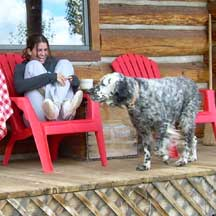 vacation rental cabin in gunnison colorado
