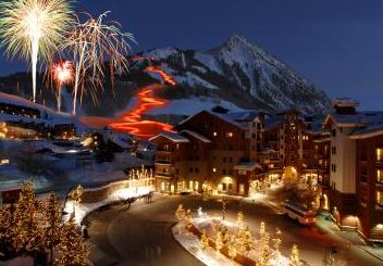 christmas torchlight parade crested butte