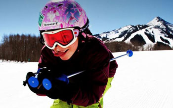 ski lessons for little children crested butte