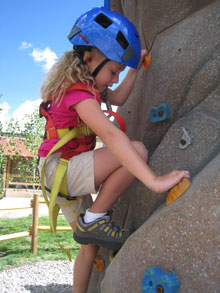 climbing wall crested butte for kids