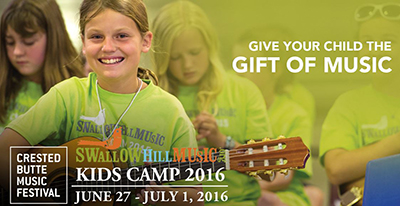 swallowhill music kids camp crested butte