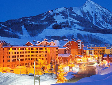 ski in  and out crested butte condo
