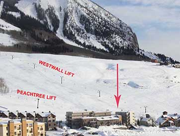 crested butte 2  bedroom condo
