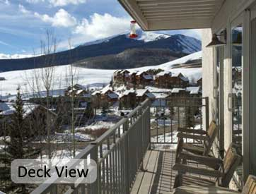 ski in and out 2 bedroom condo