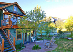 dog friendly vacation rental in Crested Butte!