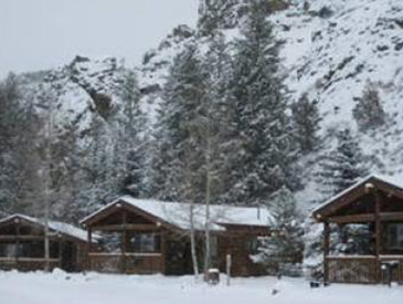3 rives resort cabin for rent in winter