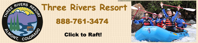 three rivers white water rafting in almont