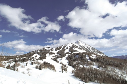 mt crested butte in summer